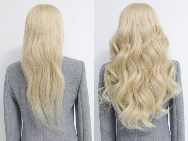 Before-after-clip-in-hair-extensions-20inch-1