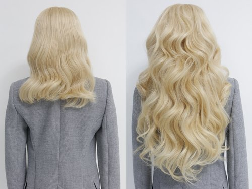 estelles secret 100 remy clip in hair extensions in minutes