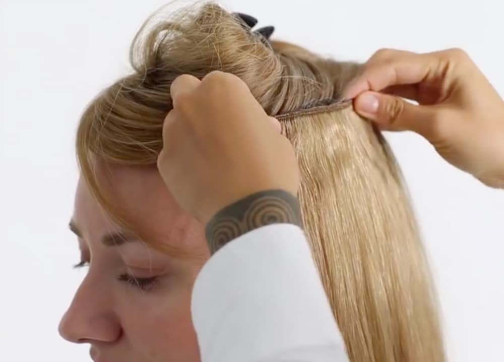 4 Fast And Easy Hairstyles Using Estelles Secret Clip In Hair